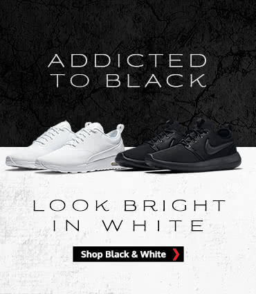 Black White Trainers