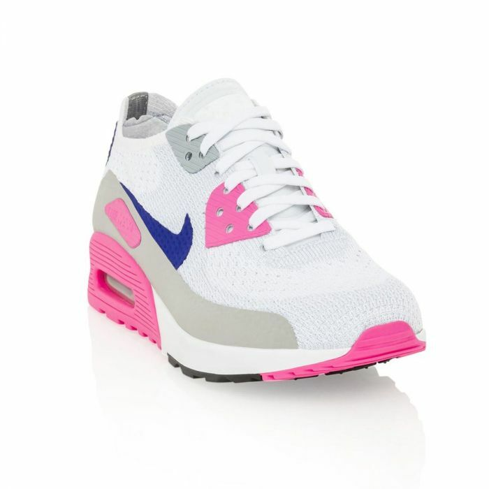 Nike Air Max 90 Ultra 2.0 Flyknit Womens 881109 001 Multi Color Shoes Size 7