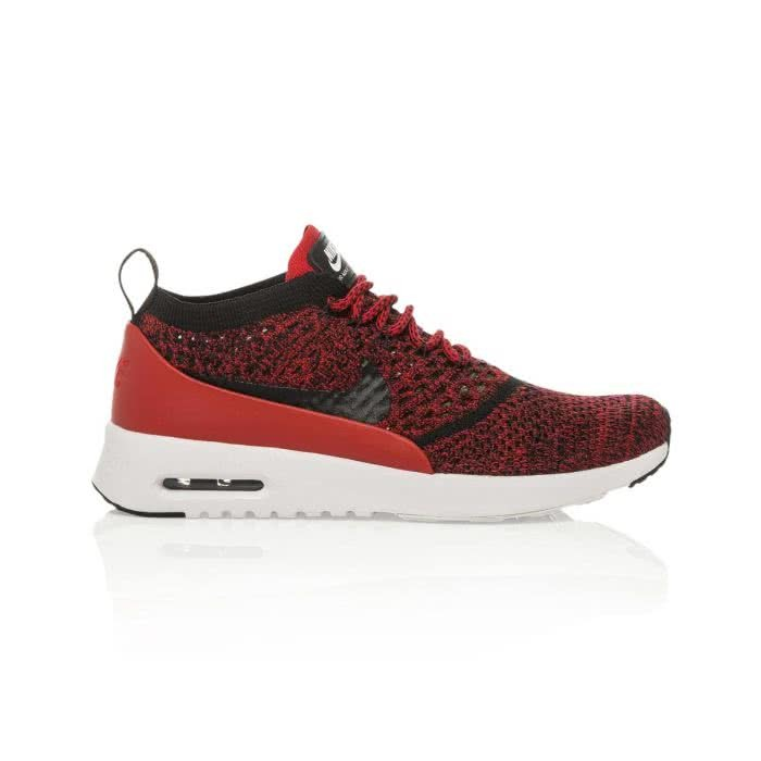 Details about Nike W Air Max Thea Ultra Flyknit # 881175 601 Red & Black Women SZ 6 10