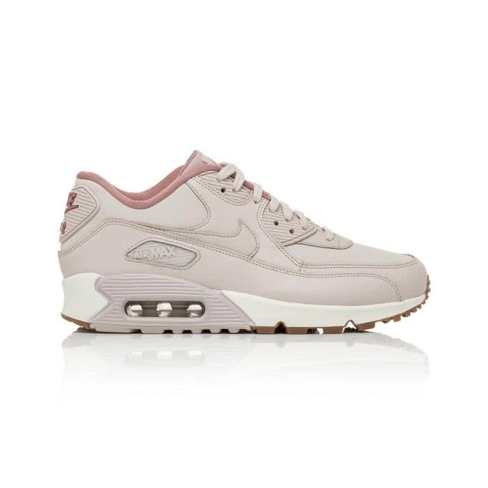 Nike Air Max 90 Womens Siltstone RedRed StardustSail Shoes UK