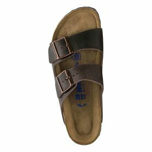 Arizona Soft Footbed Oiled Leather Sandals - Narrow