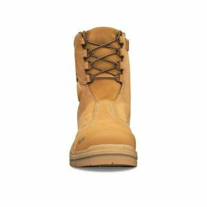 AT 55-385 - 200MM Hi-Leg Zip Sided Safety Steel Toe