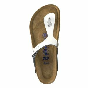 Gizeh Soft Footbed Natural Leather Sandals - Narrow
