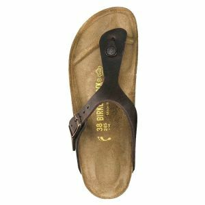 Gizeh Oiled Leather Sandals- Narrow