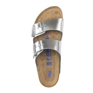 Arizona Soft Footbed Natural Leather Sandals - Regular