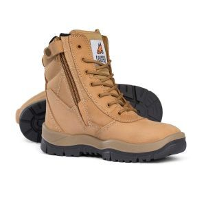 High Leg Zipsider Safety Steel Toe