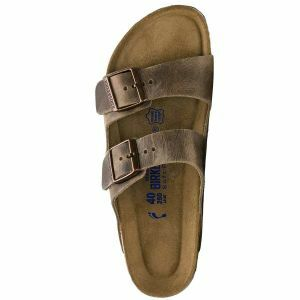 Arizona Soft Footbed Oiled Leather Sandals - Regular