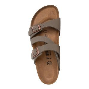Salina Birko-Flor Nubuck Sandals - Narrow