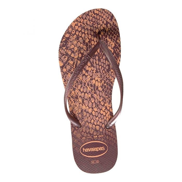 21bf9e81c506d3 Shop Havaianas Women s Slim Animals Thong - Crocus Rose