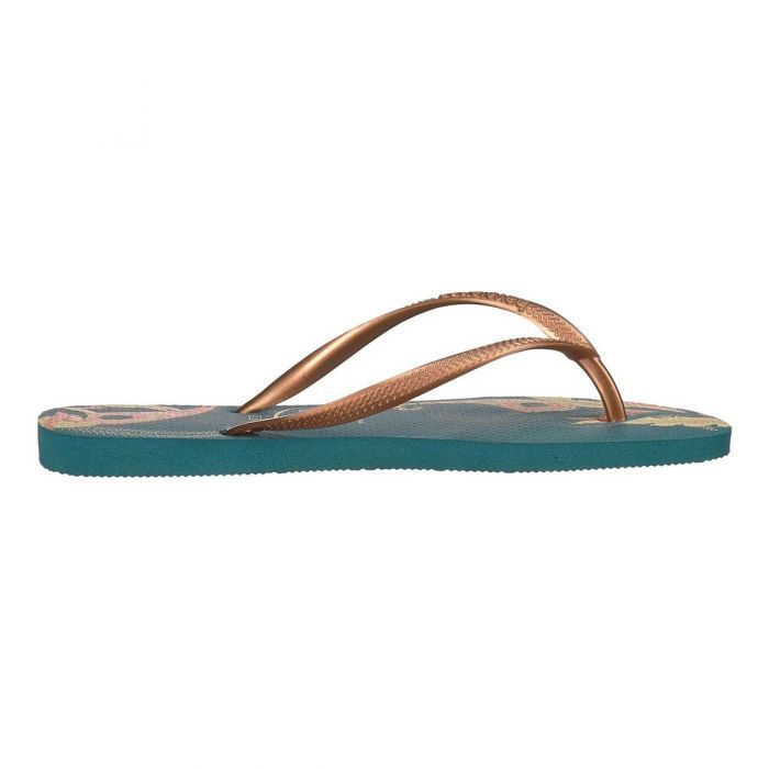 a39c7b6854821c Shop Havaianas Women s Slim Organic Thongs - Petroleum