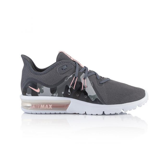 1519ddb5546 Shop Nike Air Max Sequent 3 Premium Camo Women s Running Shoes