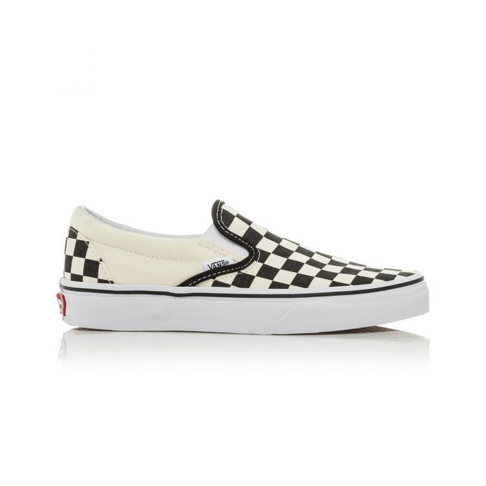 c7411898bc12a4 Shop Vans Classic Slip-On Shoes - Black White Checkerboard