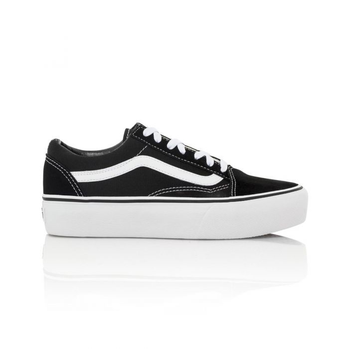 46742783fc Shop Vans Old Skool Platform Women s Casual Shoe