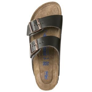 Arizona Natural Leather Soft Footbed Sandals - Regular