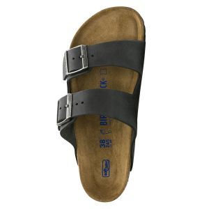 Arizona Oiled Nubuck Leather Soft Footbed Sandals - Narrow