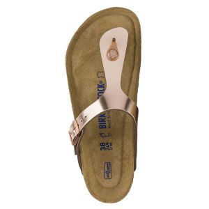Gizeh Natural Leather Soft Footbed Sandals - Regular